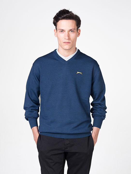 Blue Golf Jumper