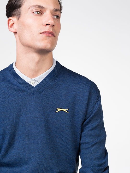 Slazenger Blue Golf Jumper