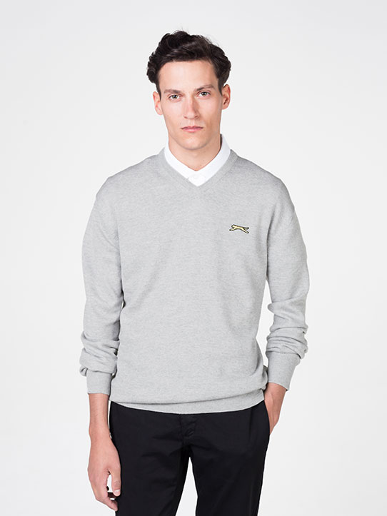 Slazenger Light Grey Golf Jumper