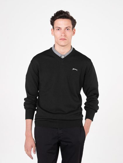 Slazenger Black Golf Jumper
