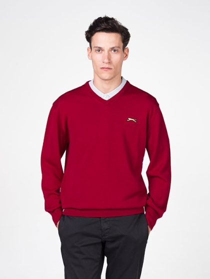Slazenger Red Golf Jumper