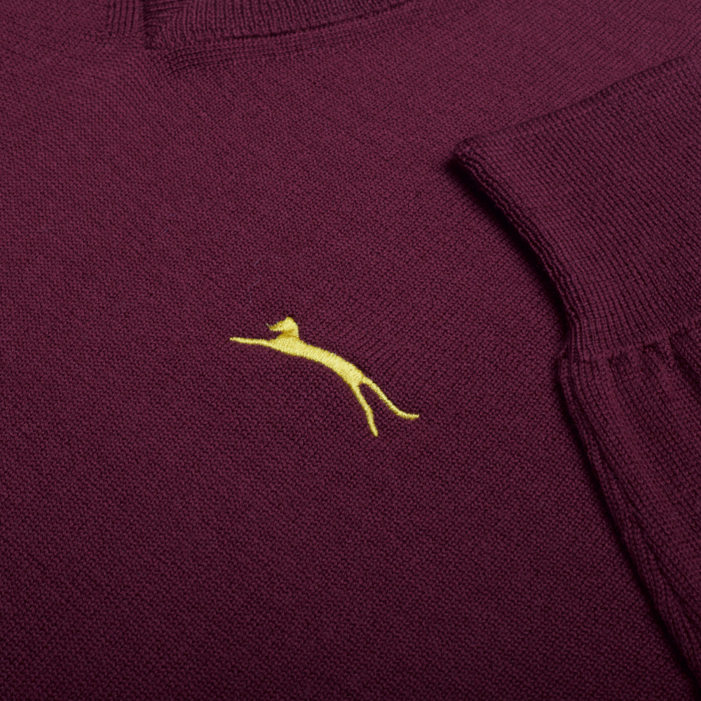 Slazenger Heritage James Jumper - Burgundy