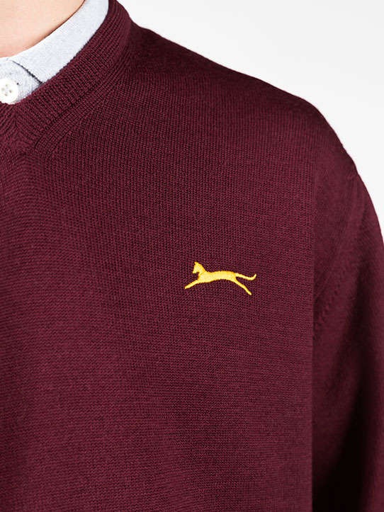 Slazenger heritage sweater golf shots