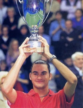 roger federer first profesional win