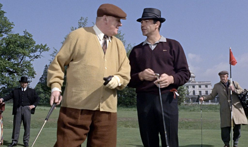 goldfinger golf scene