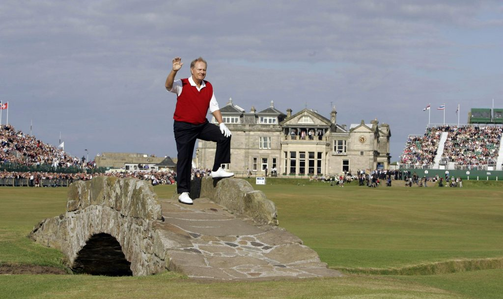 jack nicklaus british 2005