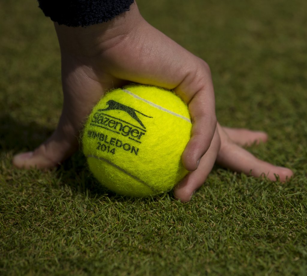 tennis balls of Wimbledon