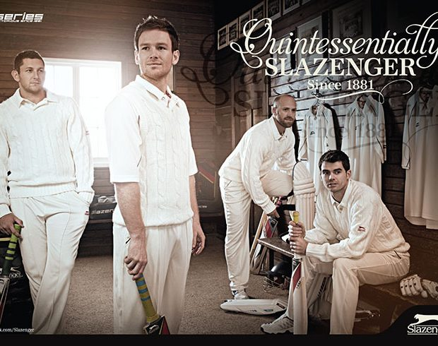 slazenger and cricket