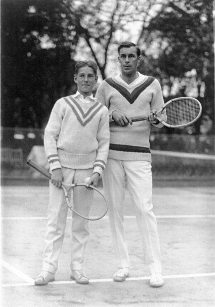 bill tilden slazenger