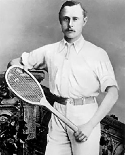 the tennis player William Renshaw