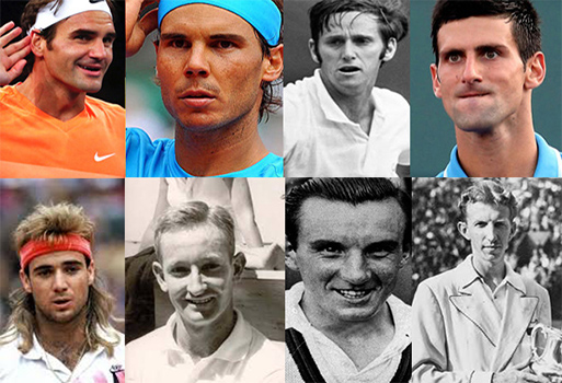 Men who have win all four Grand Slam