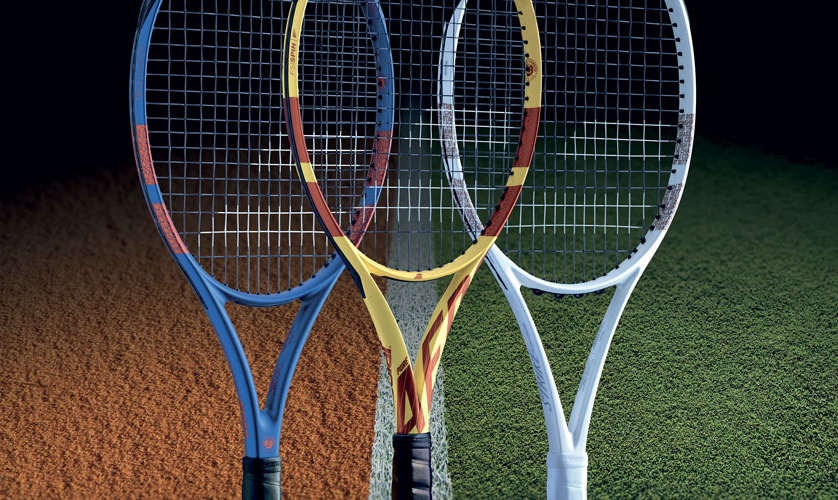 Win four grand slam rackets
