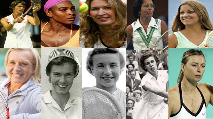 Women who have win all four Grand Slam
