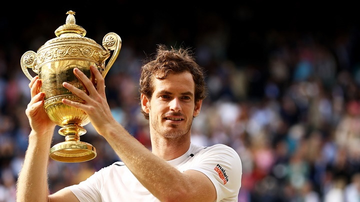 Andy Murray won Wimbledon in 2013