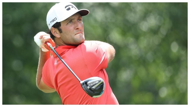 Jon Rahm playing the Memorial Tournament of PGA Tour