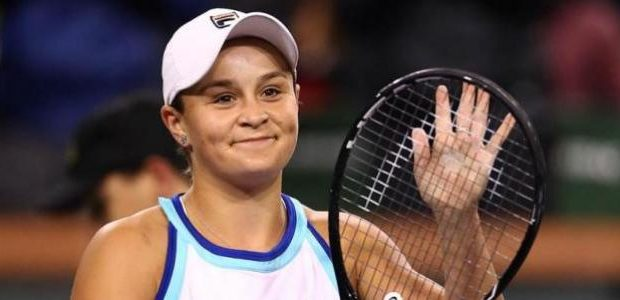 Ashleigh Barty world number one WTA