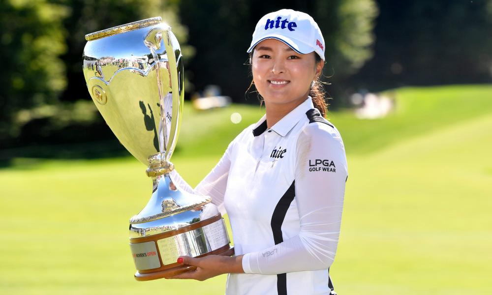 Ko Jin-young best female golfer