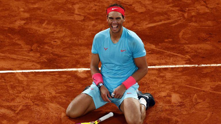 Rafa Nadal at Roland Garros 2020