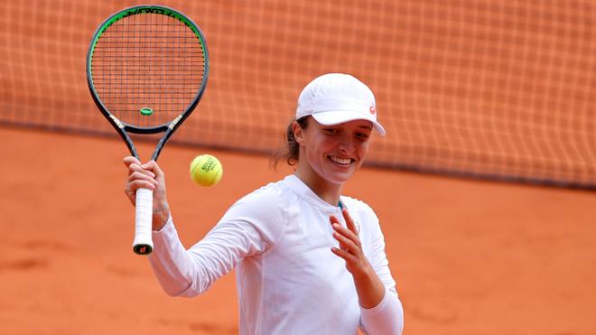Iga Swiatek at Roland Garros 2020